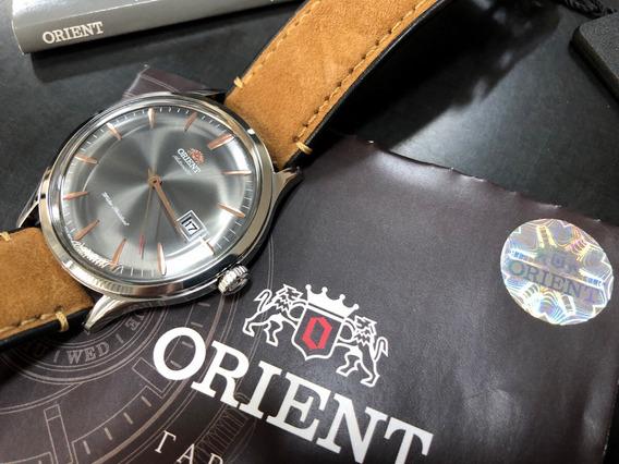 Orient Bambino V4 Automático Lançamento 42mm Lindíssimo