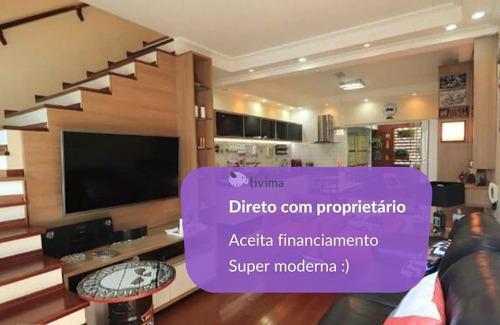 Imagem 1 de 21 de Casa À Venda Na Rua Senador Dantas, Vila Scarpelli, Santo André - Sp - Liv-16227