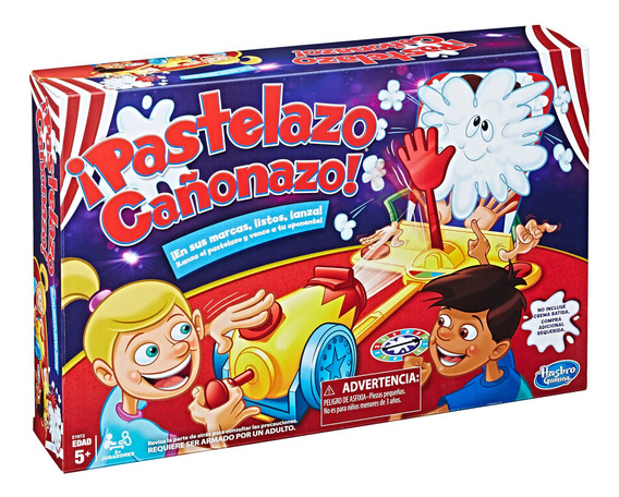 Hasbro Gaming Pastelazo Cañón!