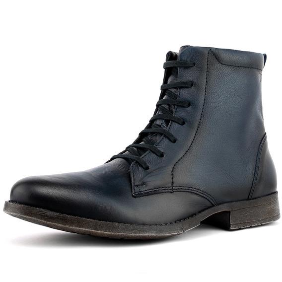 Sapato Bota Touroboots Masculino 100% Couro - Pronta Entrega
