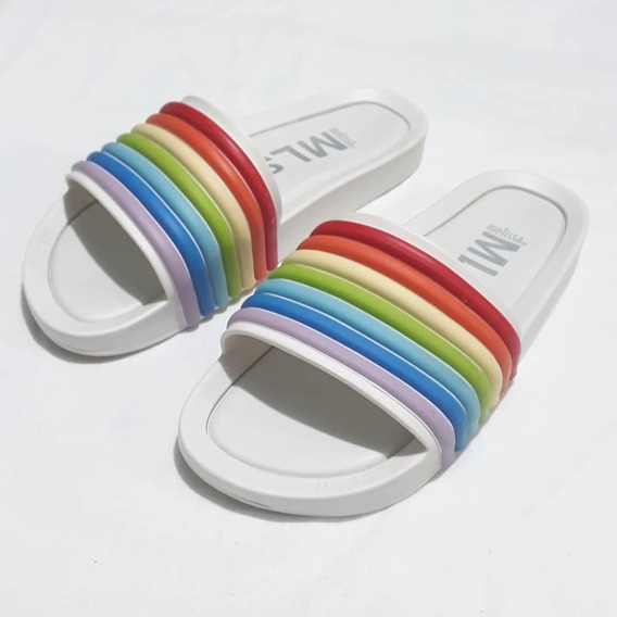 Melissa Beach Slide Rainbow