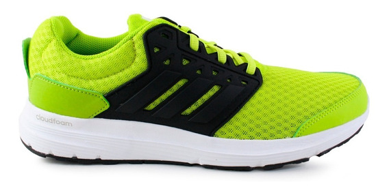 Tenis adidas Galaxy 3 Aq6542 Neon