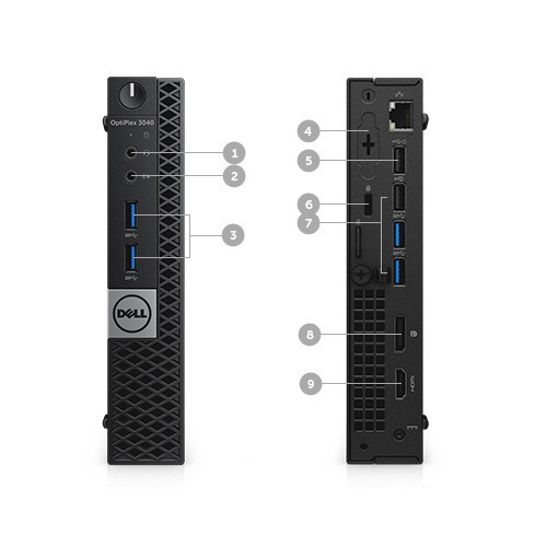Dell 3040m I5 6 Geração 16gb Hd 1 Tb Ssd 256gb Windows 10