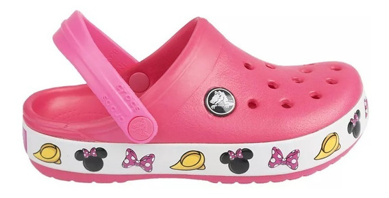 Crocs Crocband Minnie Infantil E Mickey - Original