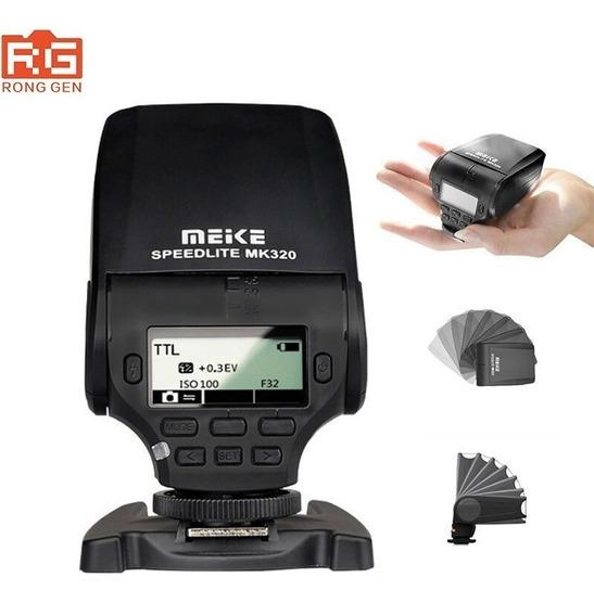 Meike Mk320 Mk-320 Mk-320c Speedlite Flash Para Canon Ttl