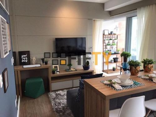 Studio À Venda, 35 M² Por R$ 460.000,00 - Campo Belo - São Paulo/sp - St0050