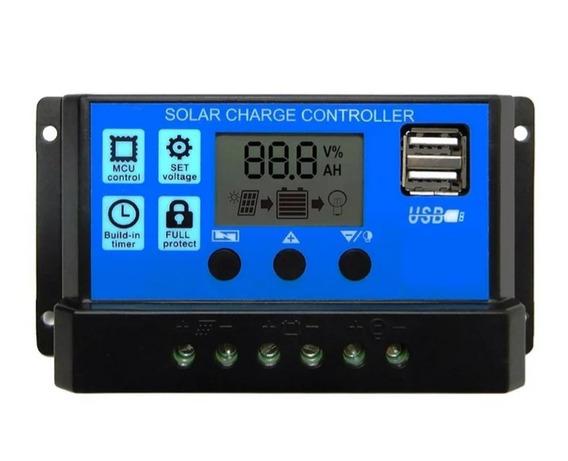 Controlador Solar 30a Para Painel Solar 12v/24v