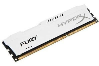 Memória Hyperx Fury, 8gb, 1866mhz, Ddr3, Cl10, Branco - Hx31