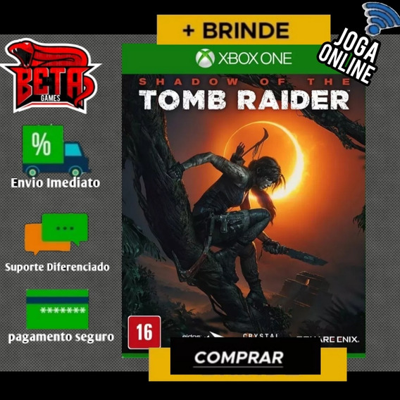 Tomb Raider - Xbox One - Midia Digital + Brinde