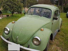 Volkswagen Fusca Alemán Año 1963 1400 Cc Buen Estado