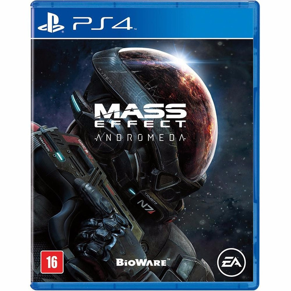 Mass Effect Andromeda - Ps4 - Mídia Física Lacrado