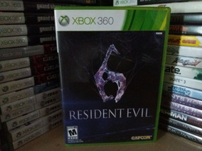 Jogo Resident Evil 6 Xbox 360 Original Mídia Física