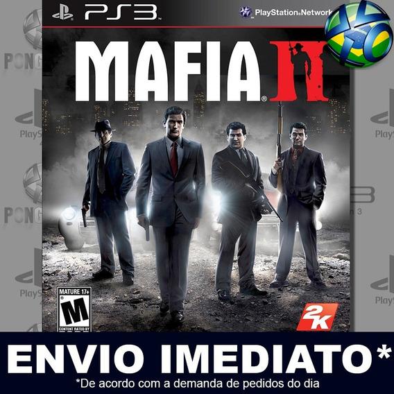 Mafia Ii 2 Ps3 Psn Jogo Em Promoção A Pronta Entrega