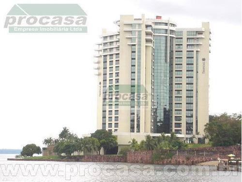 Flat Com 1 Dormitório Para Alugar, 77 M² Por R$ 6.000,00 - Ponta Negra - Manaus/am - Fl0075