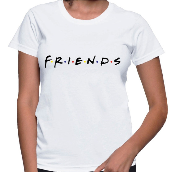 Camiseta Baby Look Feminina Série Friends Anos 90 Camisa