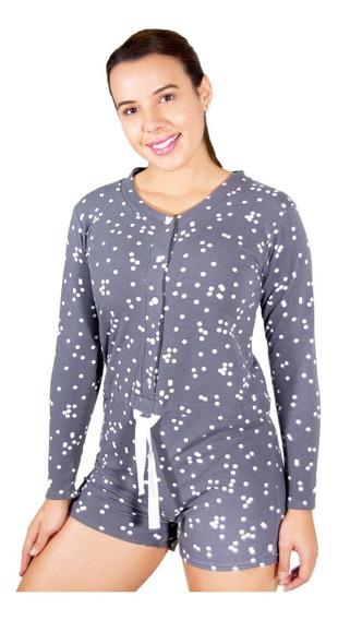 Pijama Mono Corta De Algodón I Loveshape Mod. 9001