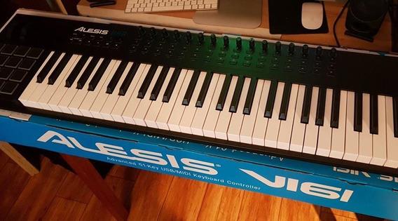 Alesis Vi61 Usb Midi Pad (61 Key) Keyboard Controller