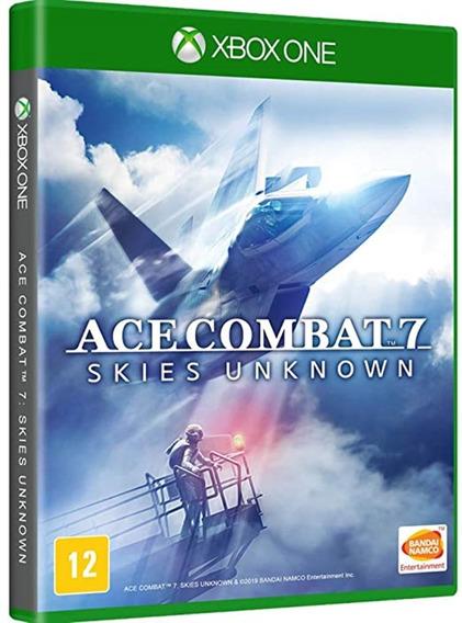 Game Ace Combat 7 Xbox One Disco Fisico Lacrado Português Br