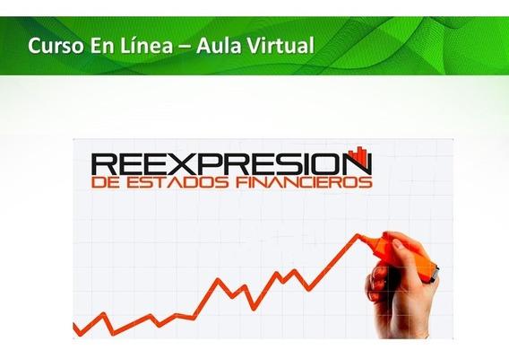 Curso Online Reexpresión De Estados Financieros Ven-nif