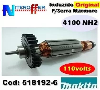 Induzido Original P/serra Mármore 4100 Nh2 110v Makita