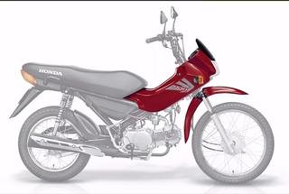 Kit De Carenagem Adesivado Honda Pop 100 - 2007 + Brinde