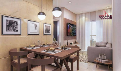 Apartamento Com 2 Dormitórios À Venda, 53 M² Por R$ 227.000,00 - Vila Guilhermina - Praia Grande/sp - Ap1857