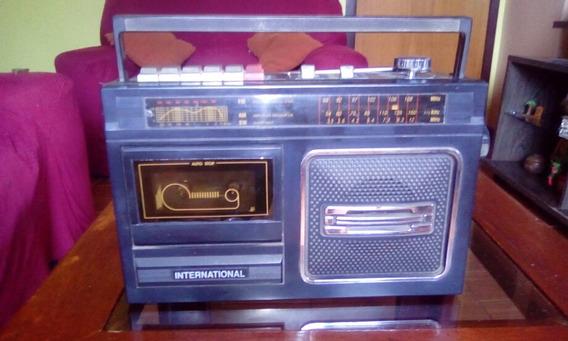 Radio Am/fm Toca-fitas Antigo International