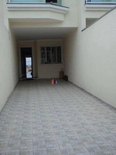 Sobrado Com 3 Dormitórios À Venda, 210 M² Por R$ 800.000,00 - Vila Guilhermina - São Paulo/sp - So1119