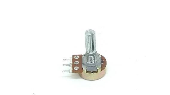 Potenciometro Wh148-1 B5k 16mm 60 Unidades