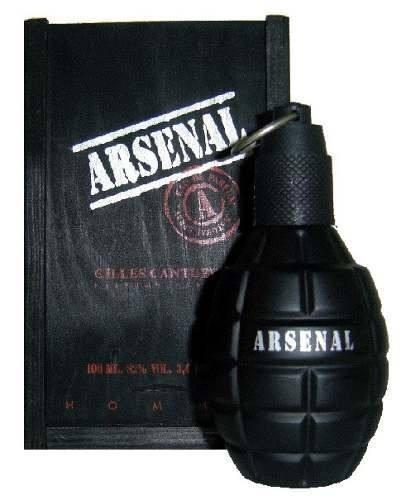 Perfume Arsenal Black Masculino Edp 100 Ml - Selo Adipec