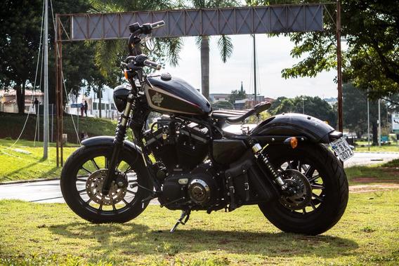 Harley Davidson Iron 883 Custon Personalizada Unica Linda