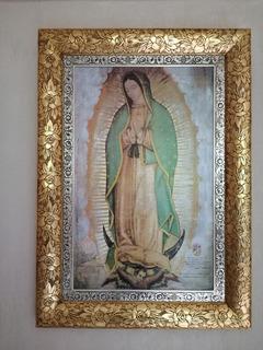 Cuadro De La Virgen De Guadalupe Marco De Rosas
