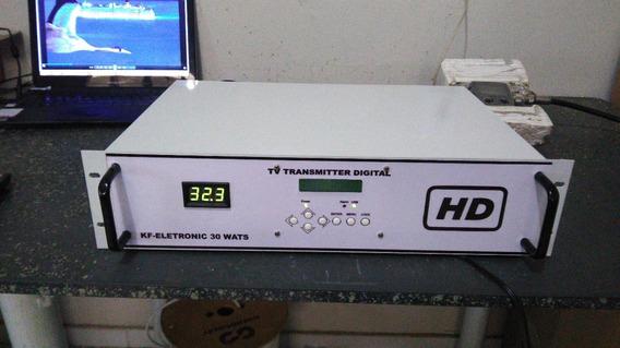 Transmissor Tv Digital 20 Wats Uhf Isdbt