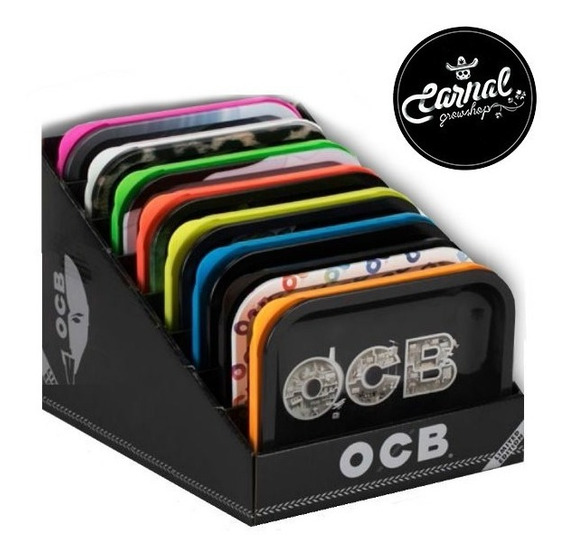 Bandeja Ocb Original Con Tapa Carnal Grow Envio Gratis