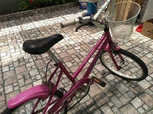 Bicicleta Rodado 20 Con Bocina Y Canasto ,excelente Estado