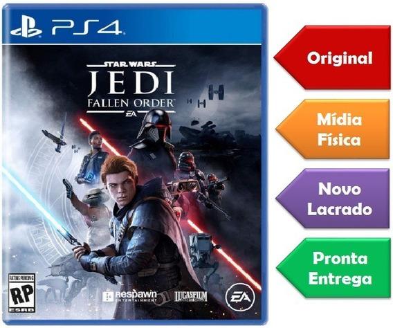 Star Wars Jedi Fallen Order Ps4 Mídia Física Lançamento Novo