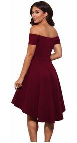 Vestido De Fiesta-graduación,gala Matrimonio Coctel S-m-l-xl