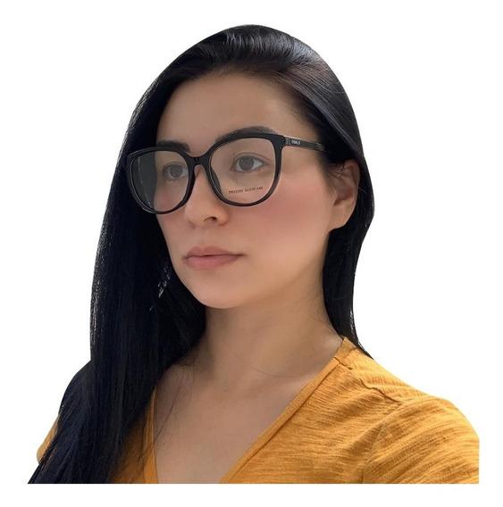 Oculos Para Grau Armaçao Feminino Preto Original Osklo 15-14