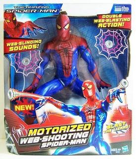 Spiderman Lanza Telaraña Con Sonido Original Hasbro Full