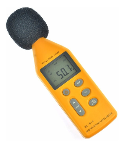 Medidor Digital Nivel Ruido Sonido Decibel 30-130d