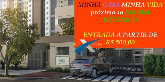 Compre Seu Apartamento Com R$ 500,00 De Entrada Minha Casa Minha Vida/sp - Ap4945