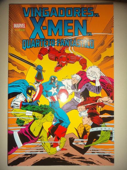 Vingadores Vs X Men Vs Quarteto Fantastico Panini Excelente