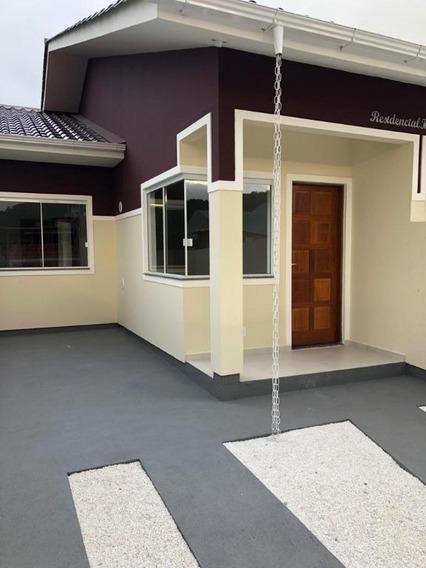 Casa Em Bela Vista, Palhoça/sc De 50m² 2 Quartos À Venda Por R$ 155.000,00 - Ca207144