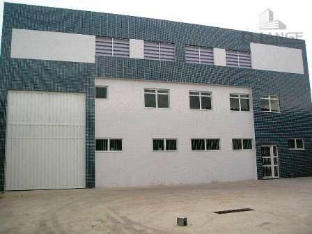 Barracão Para Alugar, 750 M² Por R$ 11.000,00/mês - Chácaras Campos Dos Amarais - Campinas/sp - Ba0510