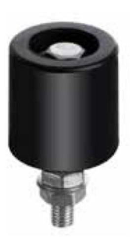 Imagen 1 de 9 de Rollete Porton Corredizo Estabilizador 40mm Con  Rulemanes