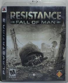 Jogo De Ps3 Resistance Fall Of Man Em Mídia Física