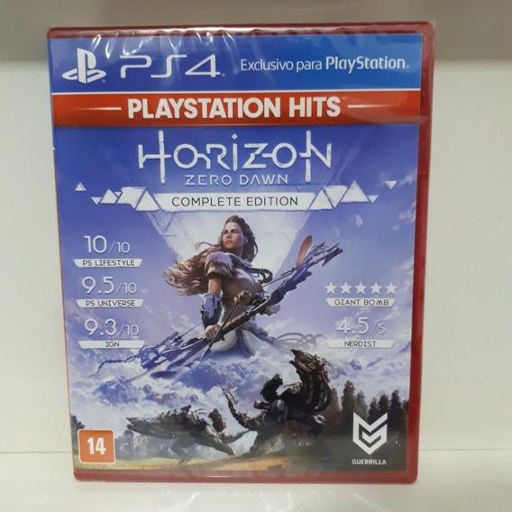 Horizon Zero Dawn Exclusivo Ps4 Novo Lacrado Midia Fisica