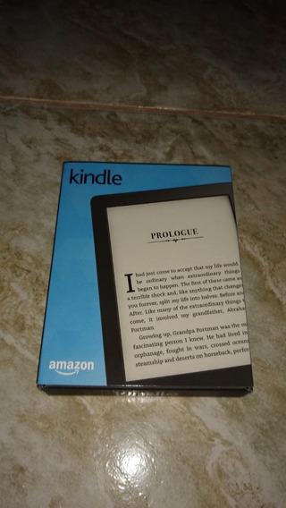 Kindle 8ª Geração Semi Novo + Capa + Caixa + Película+caneta