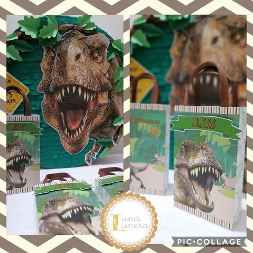 Imagen 1 de 10 de Cumpleaños Dinosaurio -invitación, Bolsas, Souvenir, Piñata