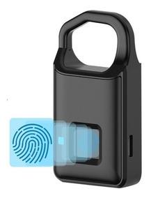 Cadeado Biométrico Inteligente Impressao Digital Usb Bateria